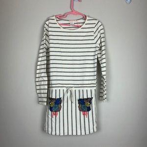 Billieblush stripe cotton dress